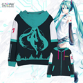 2017 new anime Diva Hatsune Miku Cosplay costumes miku anime sweater coat spring and autumn COS / everyday clothing