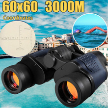High Clarity 60x60 Zoom HD Binoculars Hunting Camping Travelling Telescope Night Vision Binoculars With Coordinates 3000M ziyouhu 6x24 bronze collection telescope zoom hunting binoculars high definition camp hiking night vision telescope large size