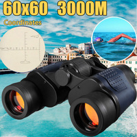High Clarity 60x60 Zoom HD Binoculars Hunting Camping Travelling Telescope Night Vision Binoculars With Coordinates 3000M