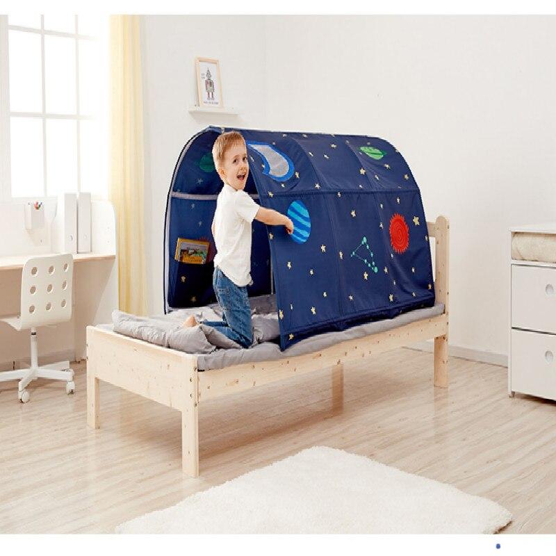 Maison de jeu Portable pour enfants Playtent pour enfants pliant petite maison décoration tente Tunnel rampant jouet balle piscine lit tente - 3