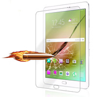 2017 Top Sale New High Definition Quality Tempered Glass Film Screen Protector For Samsung Galaxy Tab