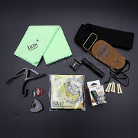Guitar Nine Sets Of High Profile Suit Guitar Accessories Straps Strings Musical Instruments