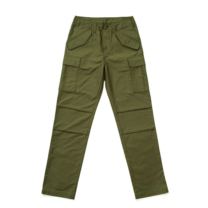 CDP M65 Multi-Pockets Military Trousers US Army Cargo Pants Cordura Fabric Loose Straight Vintage Full Length Bottoms