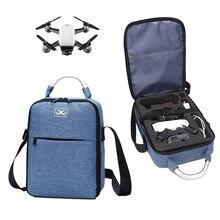אחסון נייד תיק נסיעות מקרה Carring כתף תיק עבור DJI ניצוץ Drone אביזרי כף יד תיק נשיאה תיק עמיד למים