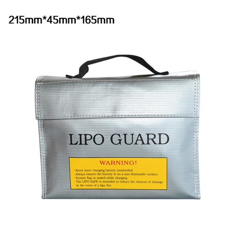 2017 LiPo Li-Po Battery Fireproof Safety Guard Safe Bag 215*45*165MM Levert Dropship Y7825