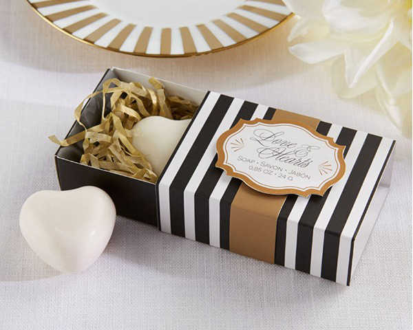"Factory Fast Delivery Wedding Favor ""Open Your Heart"" Classic Heart Scented Soap Favors Party Decoration Baby Show Wholesale"