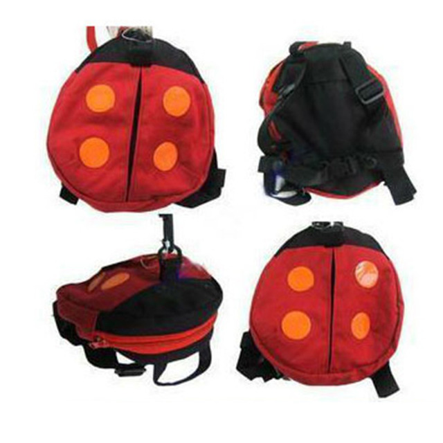 Hot Selling Cute Backpacks Anti-lost Kids Keeper Cartoon Strap Backpacks Animal Ladybug for Children