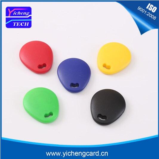 Бесплатная доставка 6 шт./RFID смарт-карты ID брелков, 125 кГц удостоверение личности, карточки контроля доступа 6 цветов (не копия)