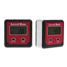 Durable Digital Inclinometer Spirit Level Protractor Angle Gauge Meter Bevel L15