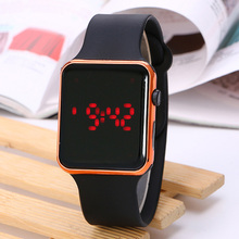 Men Sport LED Watches Casual Men's Digital Clock Man Army Military Silicone Wris
