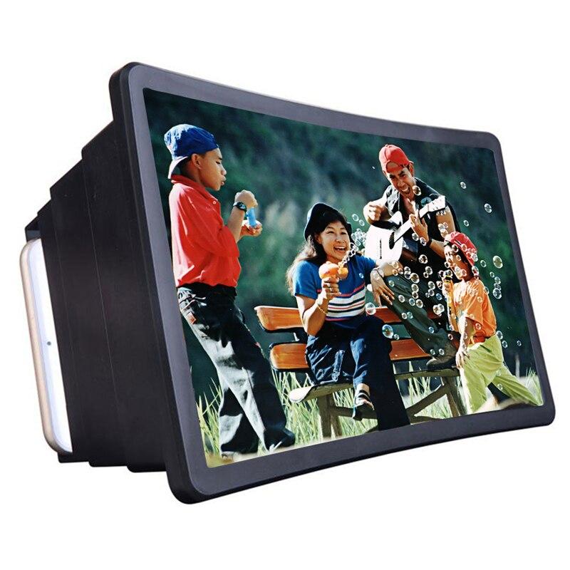 Настольная настольная игра мобильный телефон видео экран Лупа усилитель экспандер подставка держатель для 3D фильма дисплей 3 слоя Zoom In Tool|Подставки и держатели|   | АлиЭкспресс