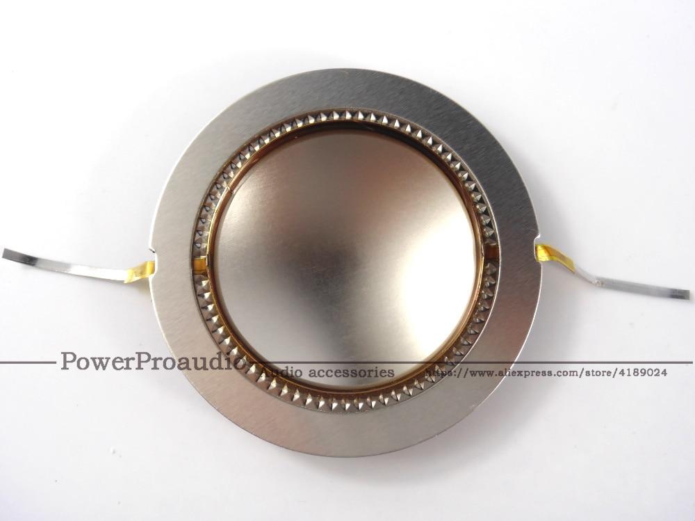 2pcs 44.4 mm 44.5mm Replacement diaphragm voice coil  1.75/'/' Flat wire