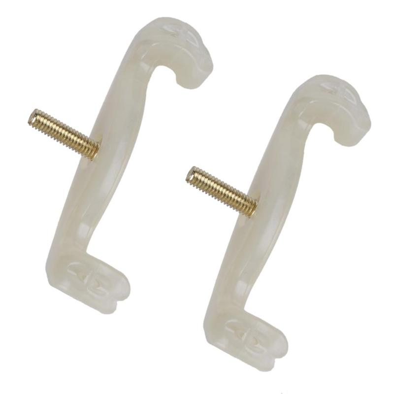 2Pcs Violin 3/4 And 4/4 Size Violin Adjustable Shoulder Rest Rubber Feet Musical Instruments High Quality Violin Accessories