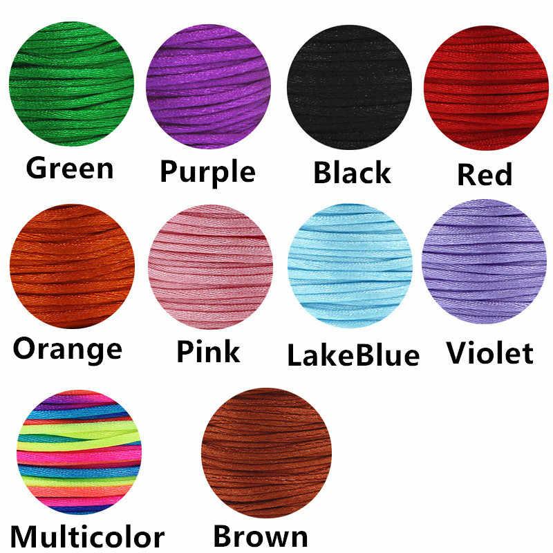 13 видов цветов браслет Бесконечность Регулируемый черный кожаный браслет бронзовый металлический унисекс цветной веревочный подарок для Него для мальчиков и женщин
