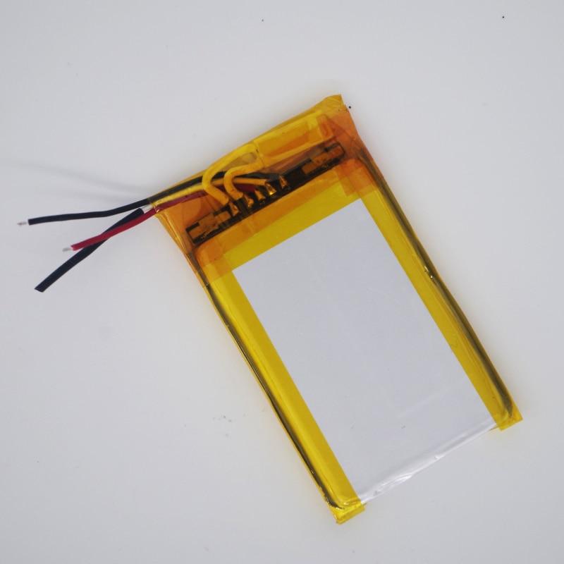 Shenzhen tecnologia 503765 3.7 v bateria de polímero de lítio 3 7 V volt bateria de iões de li po lipo baterias recarregáveis para dvr GPS de navegação