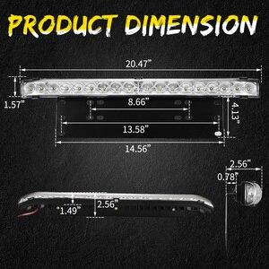 Image 4 - 20 дюймов 10800LM точечный заливающий светодиодный светильник, бар с универсальной рамкой номерного знака, монтажный кронштейн, комплект для грузовиков, автомобилей, квадроциклов, внедорожников, 4X4, Jeep