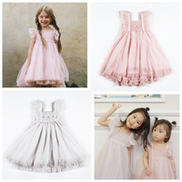 tutu dress 2019 ins hot baby girl clothes girls princess dresses party dress unicorn party toddler christmas dress