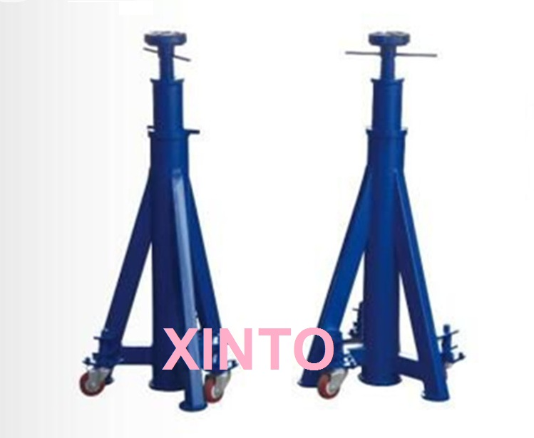 5Ton 2pcs Auto loading safety jack lifting stand car truck safe wheel tire tyre holder frame