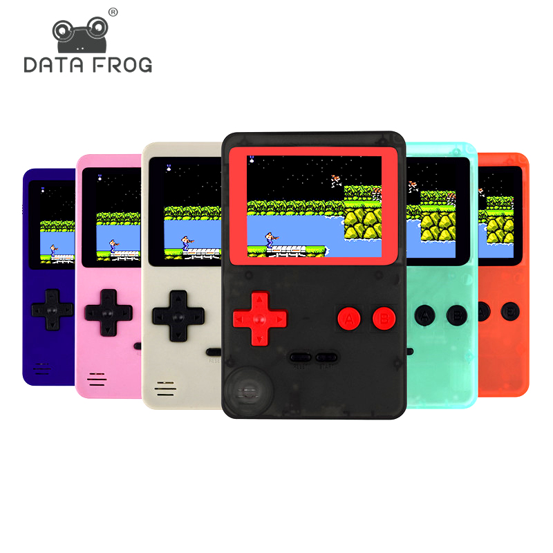 Childhood Classic Game With 200 Games 2 8 Inch 8-Bit PVP Portable Handheld  Game Console Family TV Retro Video Consoles