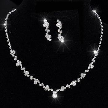 Women's Elegant Crystal Jewelry Set Jewelry Jewelry Sets Women Jewelry