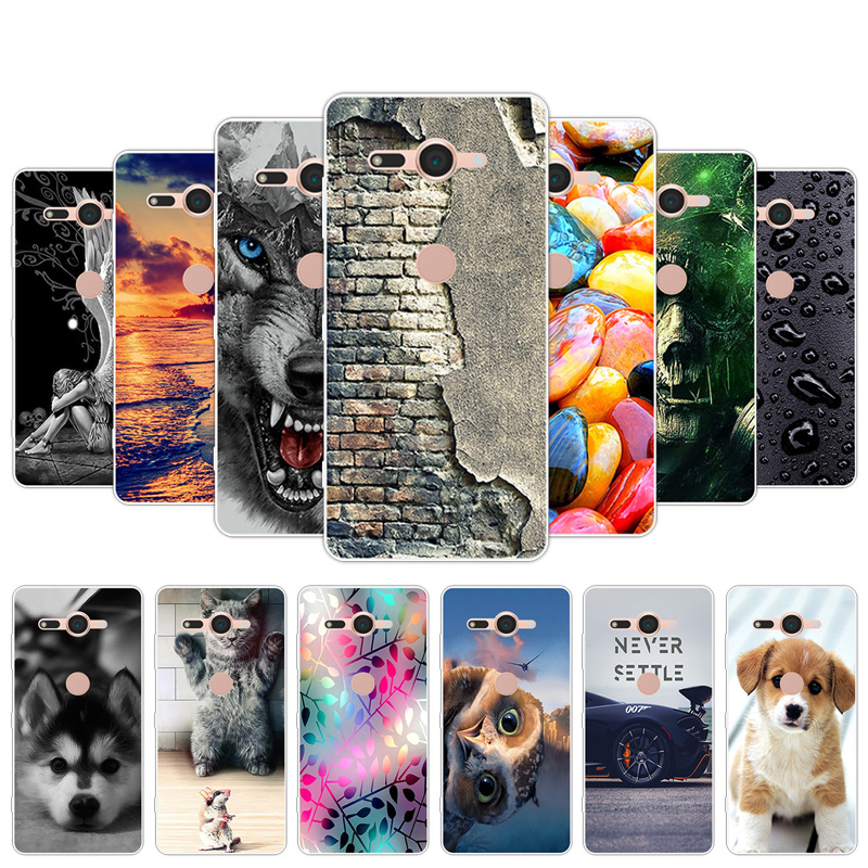 Clear TPU Phone Cases for Sony Xperia XZ2 Compact 5 inch Shell Soft Slim Back Cover for Xperia XZ2Compact Full Protection Coques thumbnail