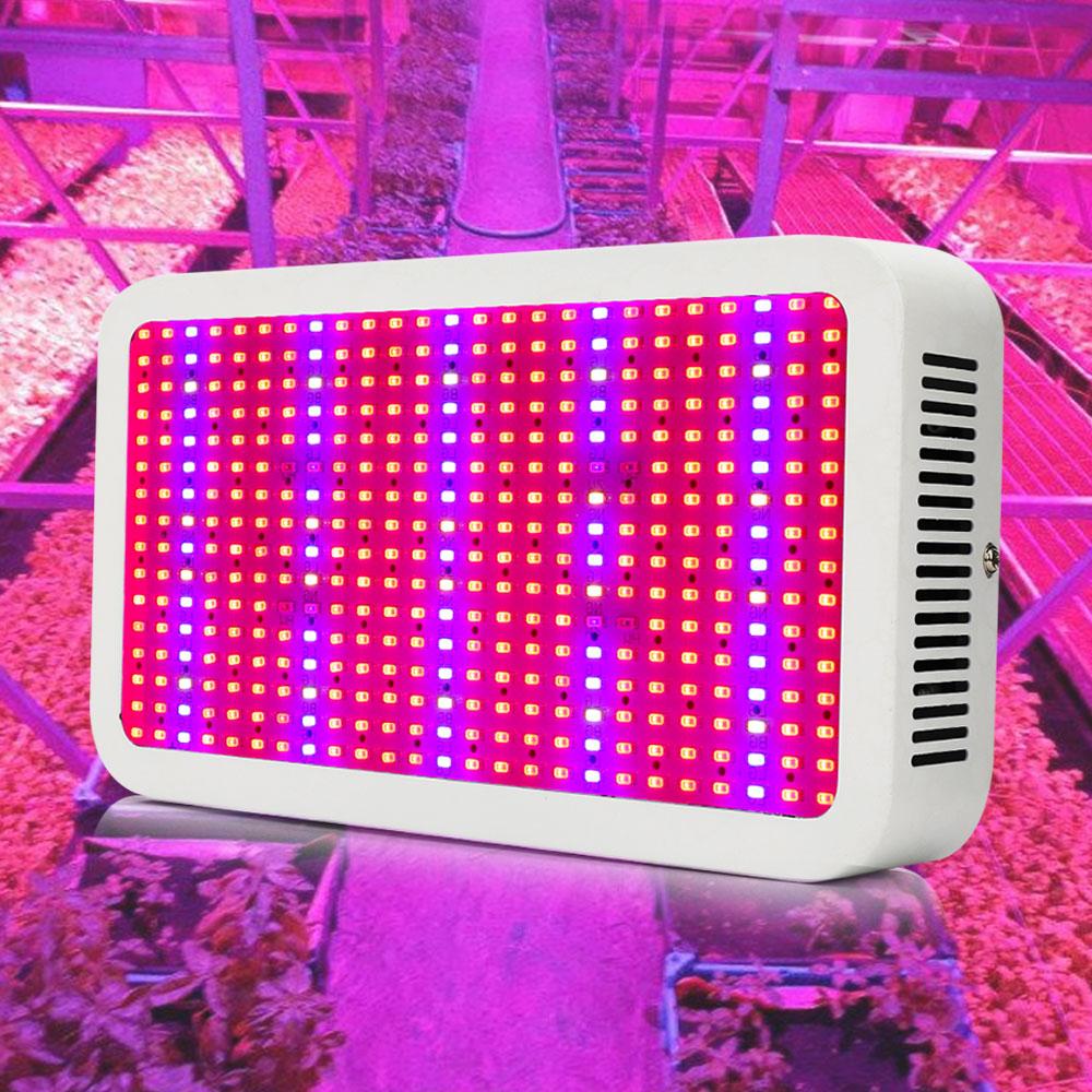 الطيف الكامل 400 واط led تنمو ضوء لزراعة خيمة الزراعة في الأماكن المغلقة حديقة الدفيئة مصابيح النباتية ومصباح نظام استزراع مائي-في صمامات ثنائية باعثة للضوء من مصابيح وإضاءات على title=