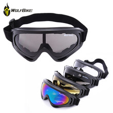 Black frame Mens Snow Ski goggles Protective Glasses Outdoor Sport Motorcycle Cycling Sunglasses Eyewear Lens Yellow