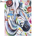 HUACAN Diamond Painting Elephant And Horse Full Square Animals Series DIY 5D Diamond Mosaic Embroidery Needle Craft Wall Decor