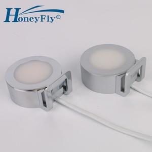 Image 5 - HoneyFly Patented LED Mirror Light 220V 2W LED Downlight Clip Mounted Bathroom Bedroom Mirror Lamp Indoor Very Easy Installation