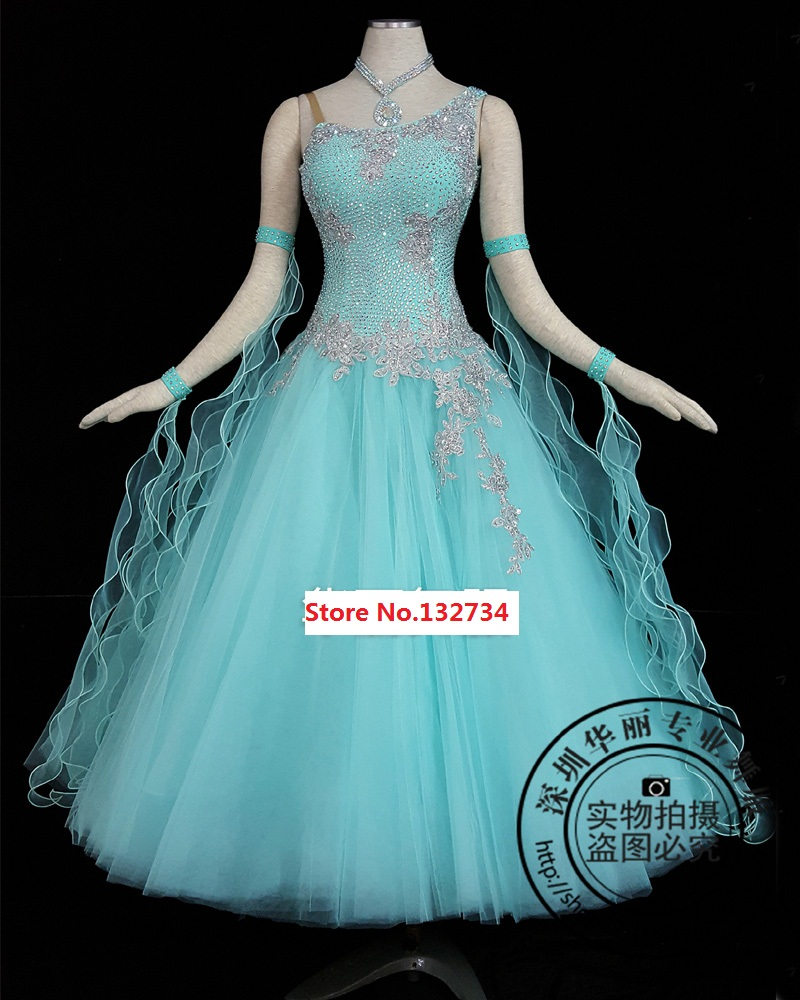 Ballroom Dance Compeion Dresses Customized For Standard Dress Juvenile Costume Stage In From Novelty