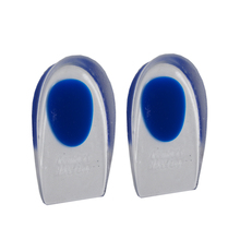 1Pair Silicon Gel Heel Cushion Insoles Soles Relieve Foot Pain Protectors Spur Support Shoe Pad Feet Care Inserts Health Z02101