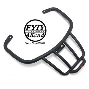 Image 5 - Motorcycle tail rack Tailstock motorbike sports style back rack For vespa piaggion GTS Sport GT GTV 300 946 black tailstock