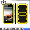 Original HUMMER H8 smartphone MTK 6572 W dual core teléfono resistente a prueba de choques impermeable de 5 pulgadas FWVGA pantalla Android 4.4