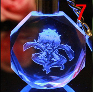аниме Брелок кристалл Токийский гуль в ассортименте 3