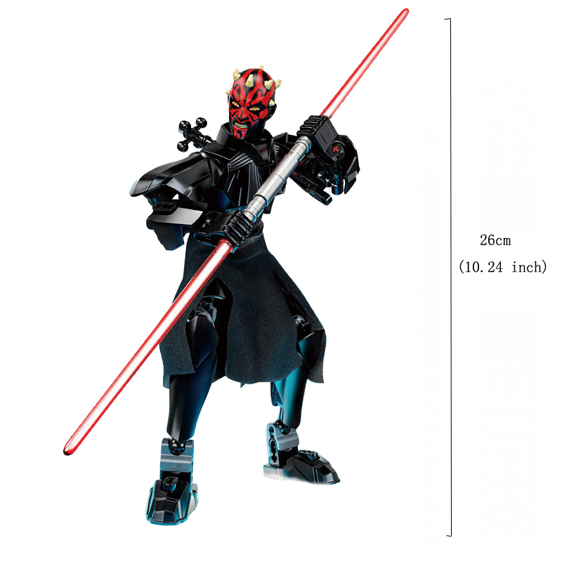 Blocks Star Wars Buildable Action Figure Toys for Kids 13
