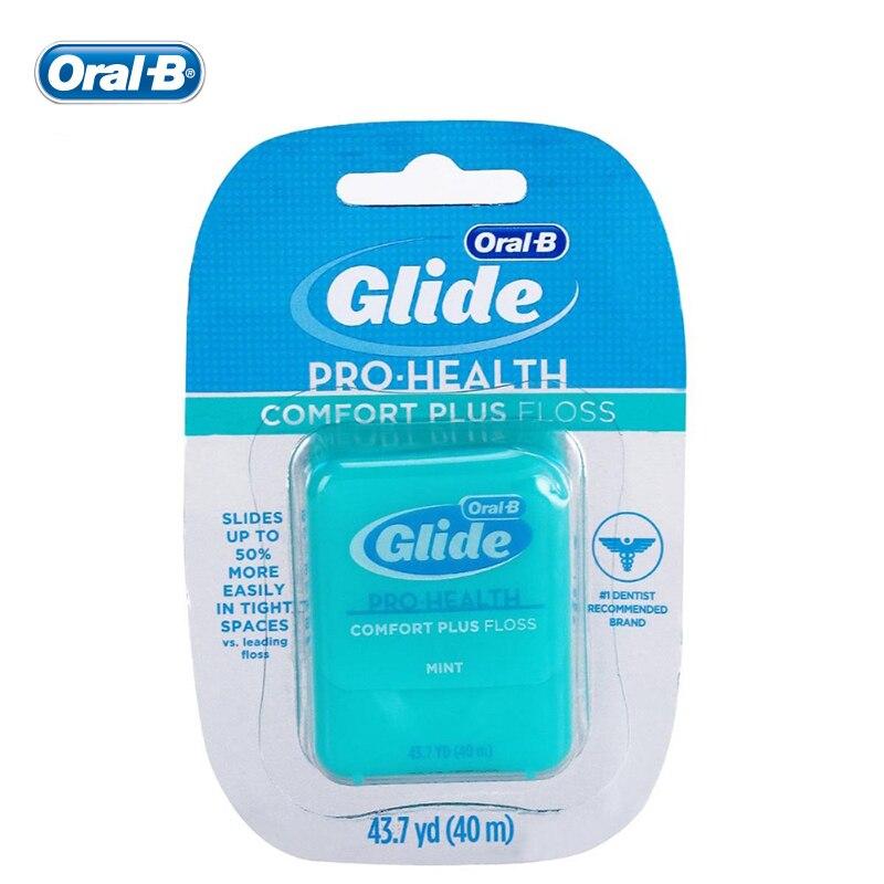 Oral B Dental Floss 40m Gilde Pro-health Oral Hygiene Interdental Brush Teeth Cleaner Tooth Pick Teeth Flosser Teeth Cleaning(China)