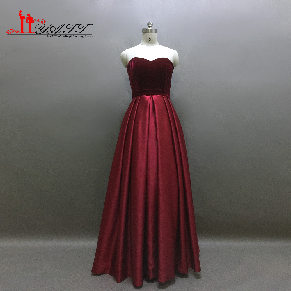 Robe de Soiree Burgundy   Evening   Gowns 2017 Maxi Women   Evening     Dresses   Long Prom Party Formal   Dress   Liyatt