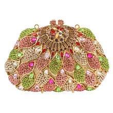 Kristall Geldbörse 2016 Neuen Stil Parteibeutel Steine Strass Diamant Abend Hochzeit Box Clutch Handtasche Metall Kupplungen Bag 88411