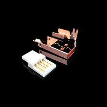 الذهب مطلي USB USB B موصل جاك الذيل Sockect موصل ميناء Sockect ل ايفي الصوت معدات