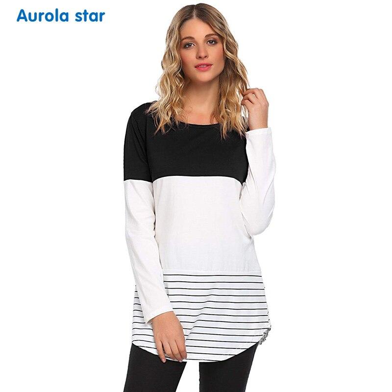 1188a4047 Detalle Comentarios Preguntas sobre Maternidad invierno ropa blusa Tops  blusas de manga larga para embarazo largo para las mujeres embarazadas  partido ...