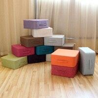 Square High Strength Sponge Tatami Cushion Meditation Yoga Round Mat Chair Seat Cushion 13 Colors Available