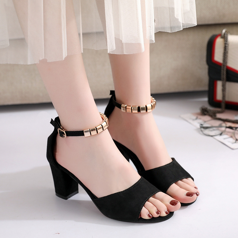 2019 New Roma Womens Sandals Belt Buckle Summer Sandale Square Heel Sexy High Heels Sexy Open Toe Sandals Gladiator Women Shoes2019 New Roma Womens Sandals Belt Buckle Summer Sandale Square Heel Sexy High Heels Sexy Open Toe Sandals Gladiator Women Shoes