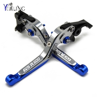 With Laser Logo GSR600 cnc Moto Brake Lever Clutch Lever Part For SUZUKI GSR 600 2006 2011 Motorcycle Bike Cable Handle Grip