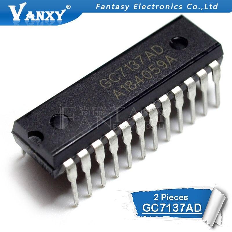 2pcs GC7137AD DIP-24 CC7137AD DIP GC7137 DIP24 New Original
