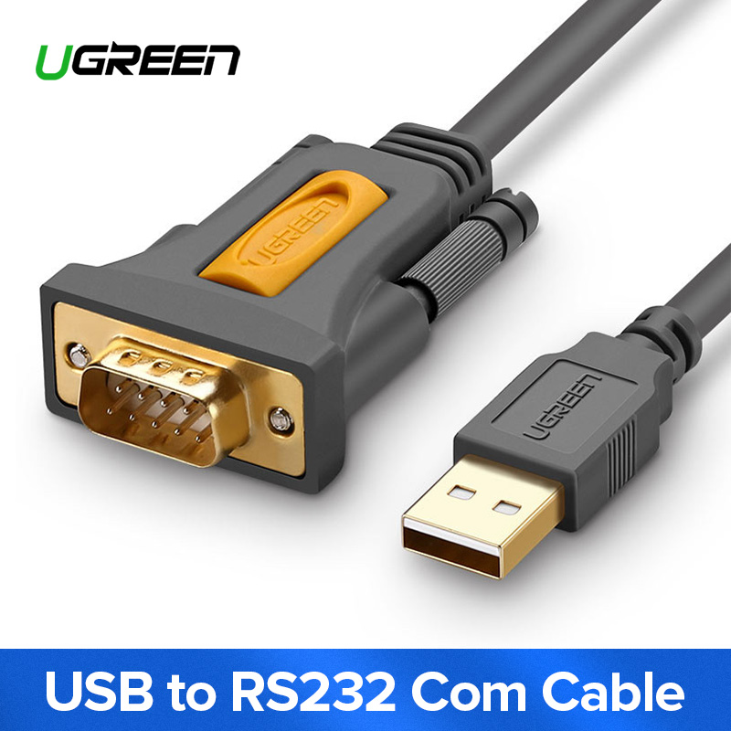 Ugreen USB zu RS232 COM Port Serielle PDA 9 DB9 Pin Kabel Adapter Produktiver pl2303 für Windows 7 8,1 XP Vista mac OS USB RS232 COM
