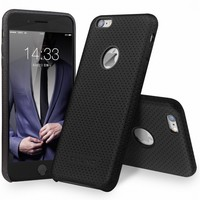 QIALINO Case Bussiness Cover Classic For Iphone 6 6S Genuine Leather Case For IPhone 6 6S