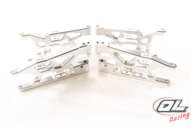 CNC Aluminum Front Suspension Arm and Rear Suspension Arm for Losi 5ive T Rovan LT King