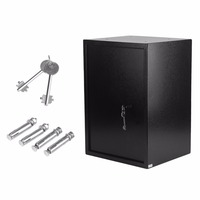 44 6L Safes Large Volume Safety Box Durable Home Jewelry Money Safe Key Lock Box Thick
