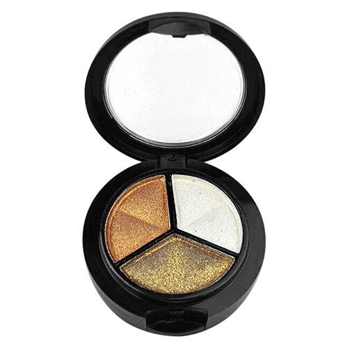 Chegada de novo! 3 Cores Smoky Cosméticos Sombra de Olho Conjunto Paleta de Sombra Natural Beauty Make Up