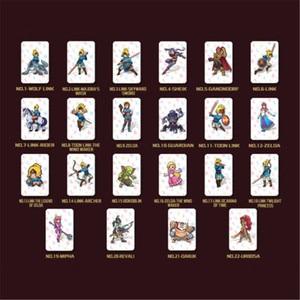 Image 2 - 24 ピース/ロットミニフルセット NFC PVC タグカードゼルダ息野生のオオカミリンク amiibo スイッチカード